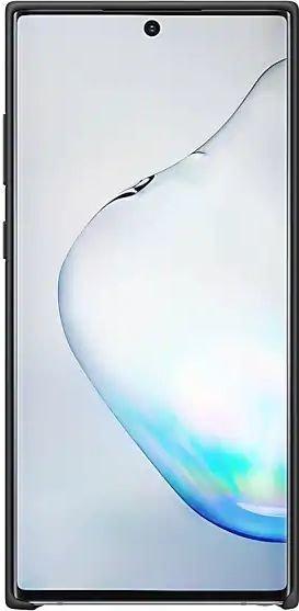 Samsung Silicone Cover für Galaxy Note 10+ schwarz (EF-PN975TBEGWW)