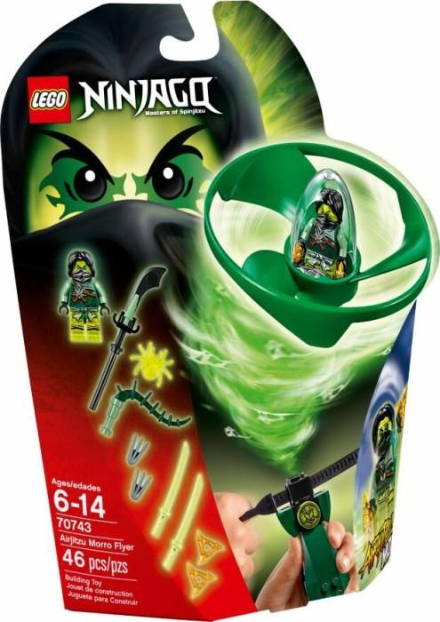 Lego Ninjago Airjitzu Morro Flieger 70743