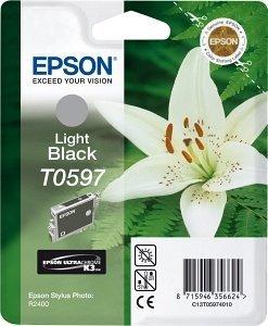 Epson T0597 Tinte schwarz hell (C13T05974010)