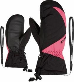 Ziener Agilo AS Mitten Skihandschuhe pink rouge/black (Junior) (801906-1259)