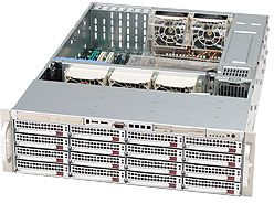 Supermicro 836TQ-R710V silver, 3U, 710W redundant
