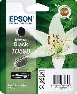 Epson Tinte T0598 schwarz matt (C13T05984010)