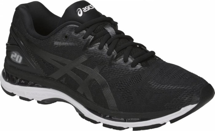 Asics gel-Nimbus 20 black (men) (T800N-9001) starting from £ 93.00 ... f032458696d84