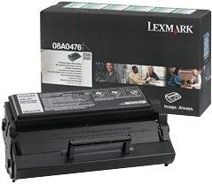 Lexmark 08A0476 toner zwrotny czarny