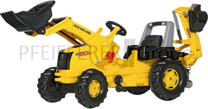 Rolly toys rollyjunior new holland construction trettraktor mit