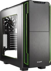 be quiet! Silent Base 600 grün, Acrylfenster, schallgedämmt (BGW09)
