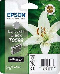 Epson T0599 Tinte schwarz hell hell (C13T05994010)