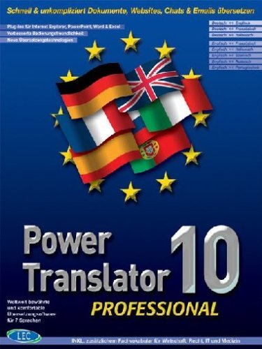 Abitz PowerTranslator Professional 10.0 (multilingual) (PC)