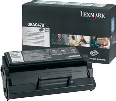 Lexmark 08A0478 Return Toner black high capacity
