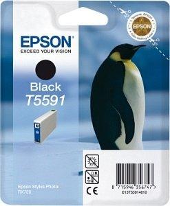 Epson T5591 Tinte schwarz (C13T55914010)