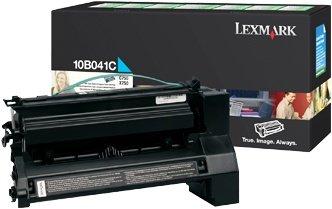 Lexmark 10B041C Return Toner cyan