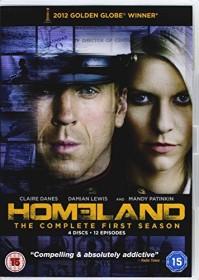 Homeland Season 1 (DVD) (UK)