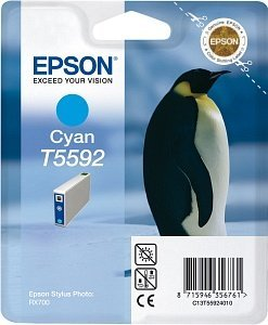 Epson T5592 Tinte cyan (C13T55924010)