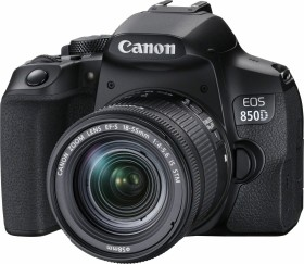 Canon EOS 850D mit Objektiv EF-S 18-55mm 4.0-5.6 IS STM (3925C002)