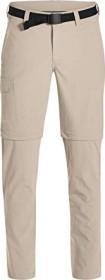 Maier Sports Torid Slim Zip Zip-Off Hose lang feather gray (Herren) (133023-743)