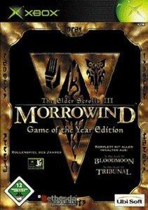 Elder Scrolls 3 - Morrowind GOTY (niemiecki) (Xbox)