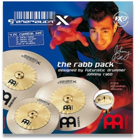 Meinl Generation X The Rabb Pack Cymbal Set (GX-12/16/18)