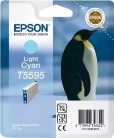 Epson Tinte T5595 cyan hell (C13T55954010)