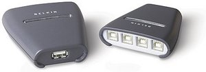 Belkin 4x1 USB Peripherie-Switch (F1U401ea)
