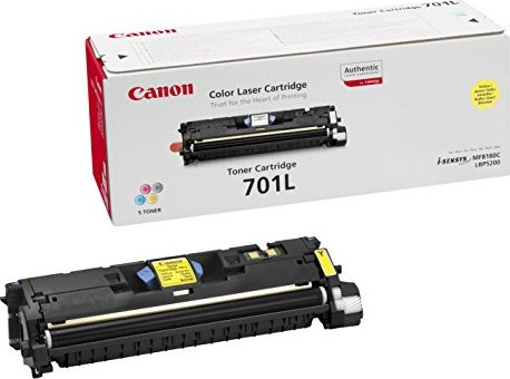 Canon 701LY Toner gelb (9288A003) -- via Amazon Partnerprogramm