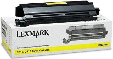 Lexmark 12N0770 toner żółty