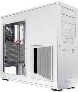 SilverStone Temjin TJ09 silver with side panel window (SST-TJ09S-W)