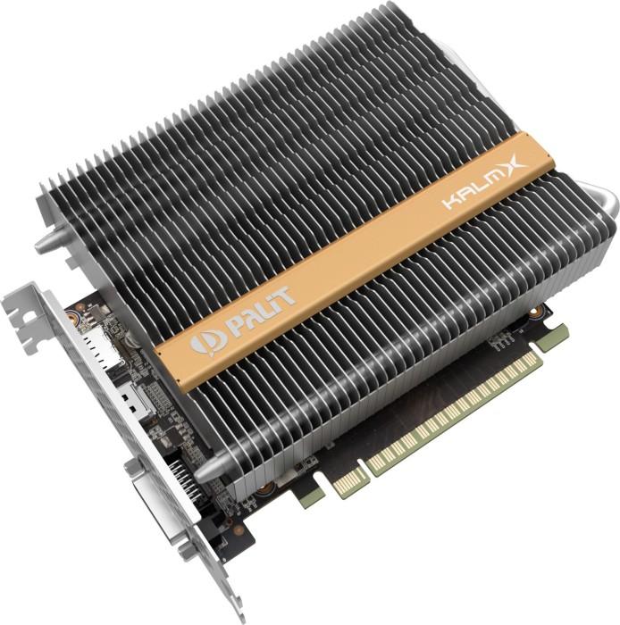 Palit GeForce GTX 1050 Ti KalmX, 4GB GDDR5, DVI, HDMI, DP (NE5105T018G1H)