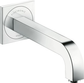 Hansgrohe AXOR Citterio electrical bathroom sink tap 221 with temperature preset and mains connection chrome (39118000)