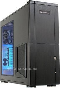 SilverStone Temjin TJ10 black with side panel window (SST-TJ10B-W) -- © caseking.de