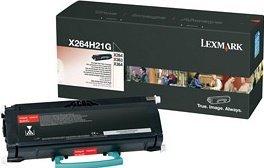 Lexmark Toner X264H21G black high capacity