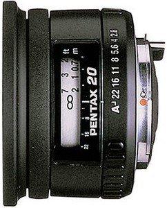 Pentax smc FA 20mm 2.8 czarny (22880)
