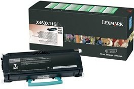 Lexmark Return Toner X463X11G schwarz