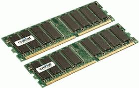 Crucial RDIMM kit 64GB, DDR2-667, CL5, reg ECC (CT8KIT102472AB667)