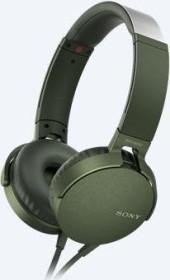 Sony MDR-XB550AP green