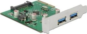 DeLOCK 2x USB-A 3.1, PCIe 2.0 x4 (89554)