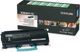 Lexmark Return Toner X264H11G/X264H80G black high capacity