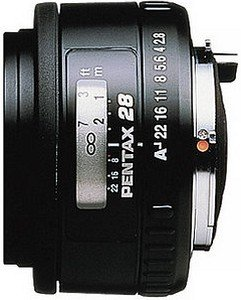 Pentax smc FA 28mm 2.8 Soft black (22530)