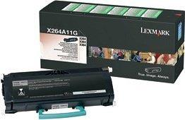 Lexmark Return Toner X264A11G black