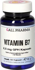 Biotin 2.5mg GPH capsules, 60 pieces