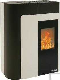 Haas+Sohn HSP 8 Home II perl-schwarz/weiß Pellet-Kaminofen (0544508050000)