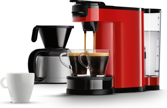 philips hd7892 80 senseo switch rot kaffee tee haushalt preisvergleich. Black Bedroom Furniture Sets. Home Design Ideas