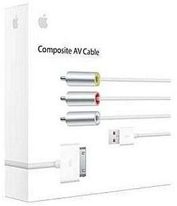 Apple composite AV cable (MC748*/A)