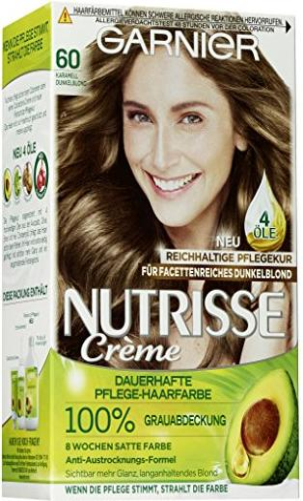Garnier Nutrisse Creme Haarfarbe 60 dunkelblond ab u20ac 539 (2018) | heise online Preisvergleich ...