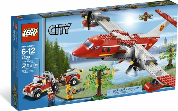 LEGO - City Forest Fire - Fire Plane (4209) -- via Amazon Partnerprogramm