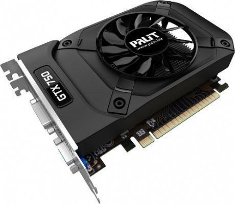 Palit GeForce GTX 750 StormX OC, 1GB GDDR5, VGA, DVI, Mini HDMI (NE5X750S1301F)
