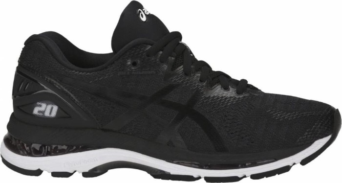 Asics Gel-Nimbus 20 black/white/carbon (Damen) (T850N-9001)