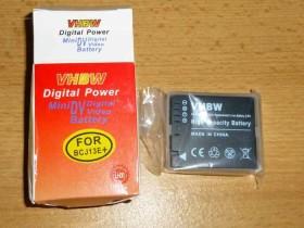 AKKU für Panasonic BCJ13 DMW-BCJ13 BCJ13E BCJ13E LX-5 LX5  MIT INFO-CHIP