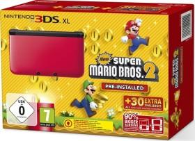 Nintendo 3DS XL New Super Mario Bros. 2 Bundle rot/schwarz