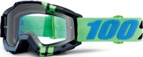 100% Accuri Goggle zerg/clear lens (50200-251-02)