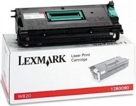 Lexmark Toner 12B0090 schwarz